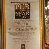 The Cat Inn Pub of the Year 2015